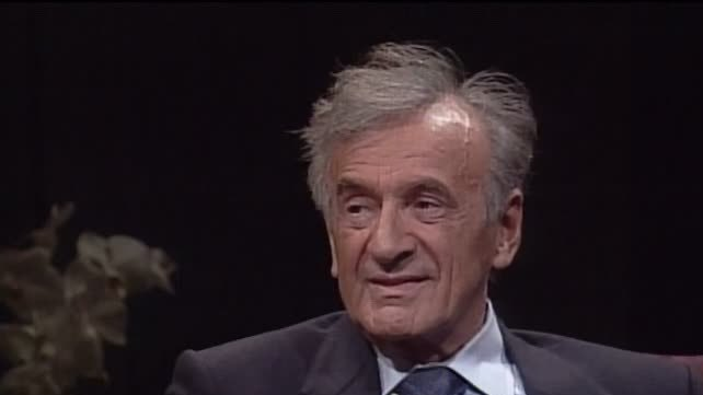 Watch Video of Interview with Elie Wiesel (1928-2016)