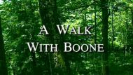 A Walk with Boone