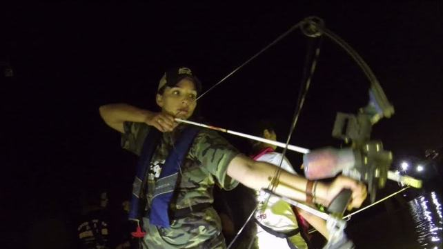 Bow Fishing for Asian Carp