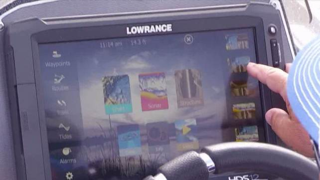 Boat Electronics and Muskie Fishing