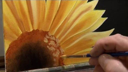 Macro Sunflower 171 Painting With Wilson Bickford 171 Ket